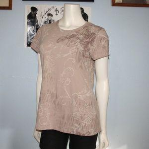 Beautiful brown Sonoma Large Tee Shirt